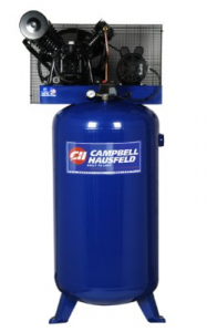 Image of the stationary air compressor, the Campbell Hausfeld HS5180