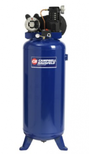Image of the stationary air compressor, the Campbell Hausfeld VT6275