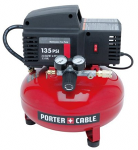 Image of the portable air compressor, the PORTER-CABLE PCFP02003