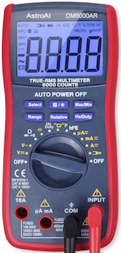 AstroAI digital multimeter DM6000AR