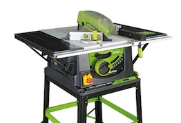 Image of the table saw, the Evolution Fury5