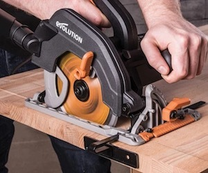 Evolution R185CCS circular saw