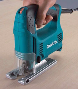 Image of the power jigsaw, the Makita 4329