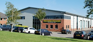 Picture of the distribution centre for the Record Power company