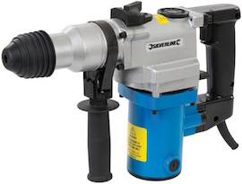 Image of the SDS hammer drill, the Silverline 633821 SDS+
