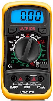 The Ultrics Digital Multimeter