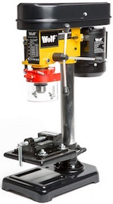 Wolf 5-speed Pillar Drill