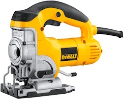 Image of the power jigsaw, the Dewalt DW331