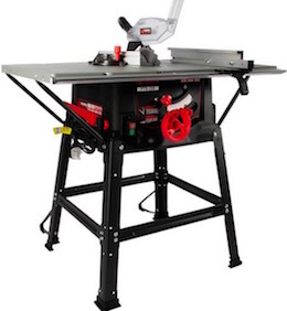 Image of the table saw, the Parker Brand PTS-250