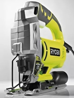 Image of the power jigsaw, the Ryobi RJS750-G