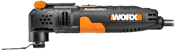 Picture of the WORX WX680 F30 oscillating multi-tool